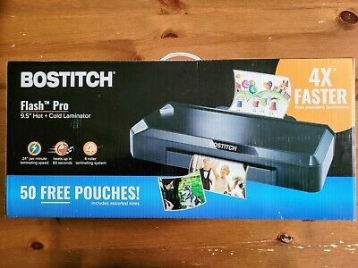 Bostitch Flash Pro Xl 9.5 Fast Heat Commercial Thermal Laminator Hot And Cold