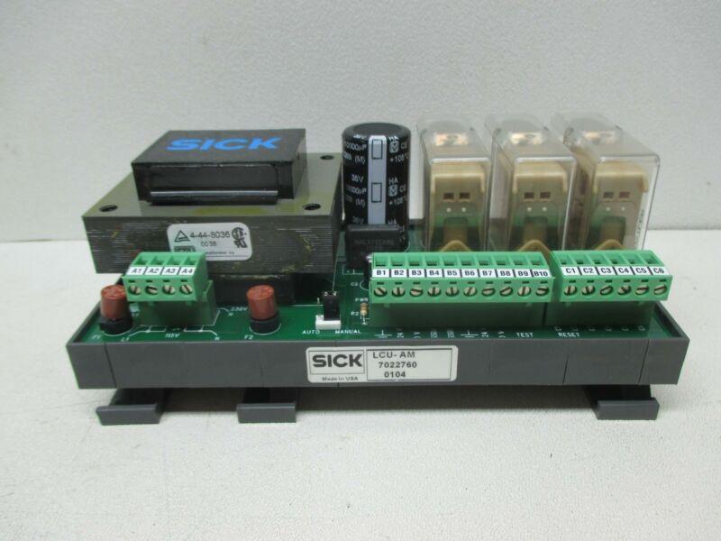 Sick LCU-AM-7022760 Power Supply Relay Module *New*