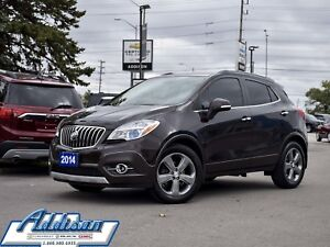 2014 Buick Encore Leather FWD Navigation Leather Rear Camera
