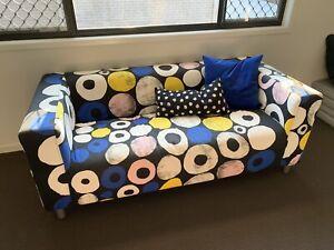 IKEA multicoloured 2 seater couch