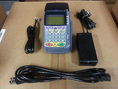 Verifone Omni 3740 Credit Card Terminal - Complete Set W Warranty - 3750 3730