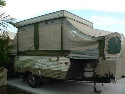 1977 Jayco Dove Camper Trailer - project