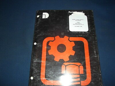 Komatsu Dresser H-400c Pay-loader Wheel Loader Parts Manual Book Catalog