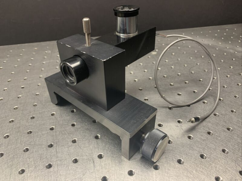 US Laser (Micro Radian 50) Autocollimator for Laser Alignment w/ rail mount