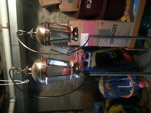 2 new hanging lanterns for a living room or back yard