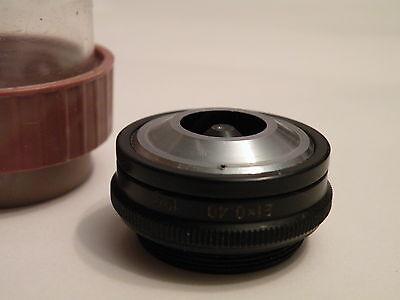 Lomo Epi Objective 21x 040 Fluorescence Tube 190 Microscope Zeiss M27