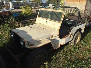 Wanted Willys  CJ  jeeps