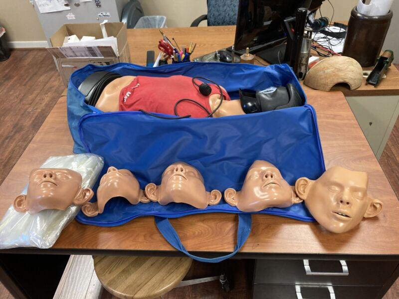 Ambu Man International Mannequin Denmark CPR EMT Training Dummy Man Torso