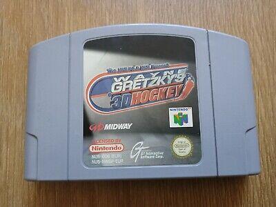 Wayne Gretzky's 3D Ice Hockey 98 Nintendo 64 N64 PAL