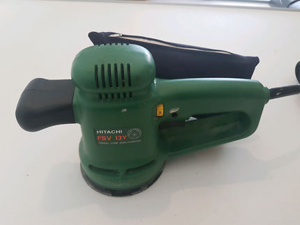 hitachi belt sander. hitachi 125mm orbital sander - great condition, $20 post belt