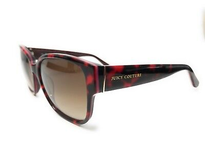 NEW JUICY COUTURE JU 573/S 0EUG 57MM DARK RED SUNGLASSES W/ BRAND CASE