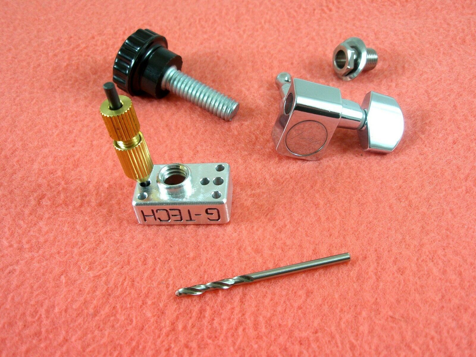 Multi Tuner Pin Drilling Jig - Single/Two Pin - Fender Schaller Sperzel Squier