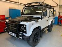 Land Rover 90 Defender 2.2TD 2014 XS White Overland Special Edition