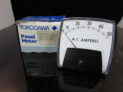 Yokogawa 0-50ac Panel Meter 250-340-lsnt