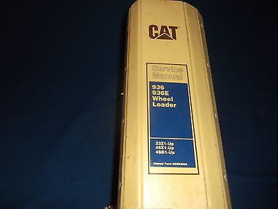 Cat Caterpillar 936 936e Wheel Loader Service Shop Repair Book Manual 33z 45z