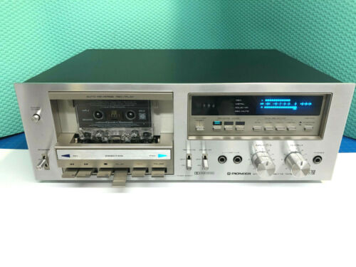 Pioneer CT-F750 Stereo Cassette Tape Deck, Auto Reverse,, Serviced, GREAT