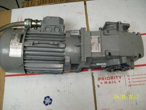 LENZE MOTOR MDEMA1M071-32 EN 60034 with REXROTH GEAR REDUCER 3842532021
