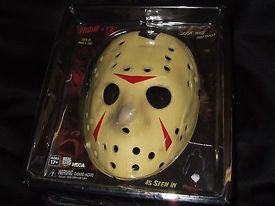 NIP Friday The 13th Movie Jason Voorhees Hockey Prop Replica Face Mask Cosplay (Jason Voorhees Face Mask)