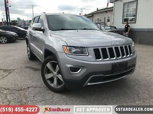 2015 Jeep Grand Cherokee Limited | LEATHER | NAV | CAM