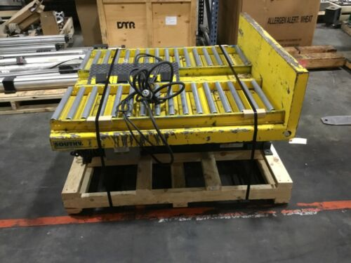 Southworth Electric Lift/tilt Table Gaylord Tipper 2500 Lb 4' X 4' 1 Ph #120bk