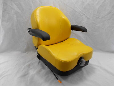 YELLOW ULTRA RIDE SUSPENSION SEAT I3M FITS JOHN DEERE ZERO TURN MOWERS ZTR #UY for sale  Shipping to Canada