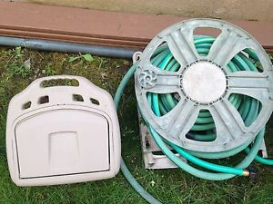 Hose reel and caddy