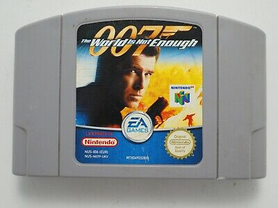 007: The World is Not Enough for Nintendo 64 N64 PAL *100% GENUINE* CART ONLY