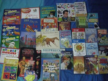Kids Books - novels, picture books, craft, educational