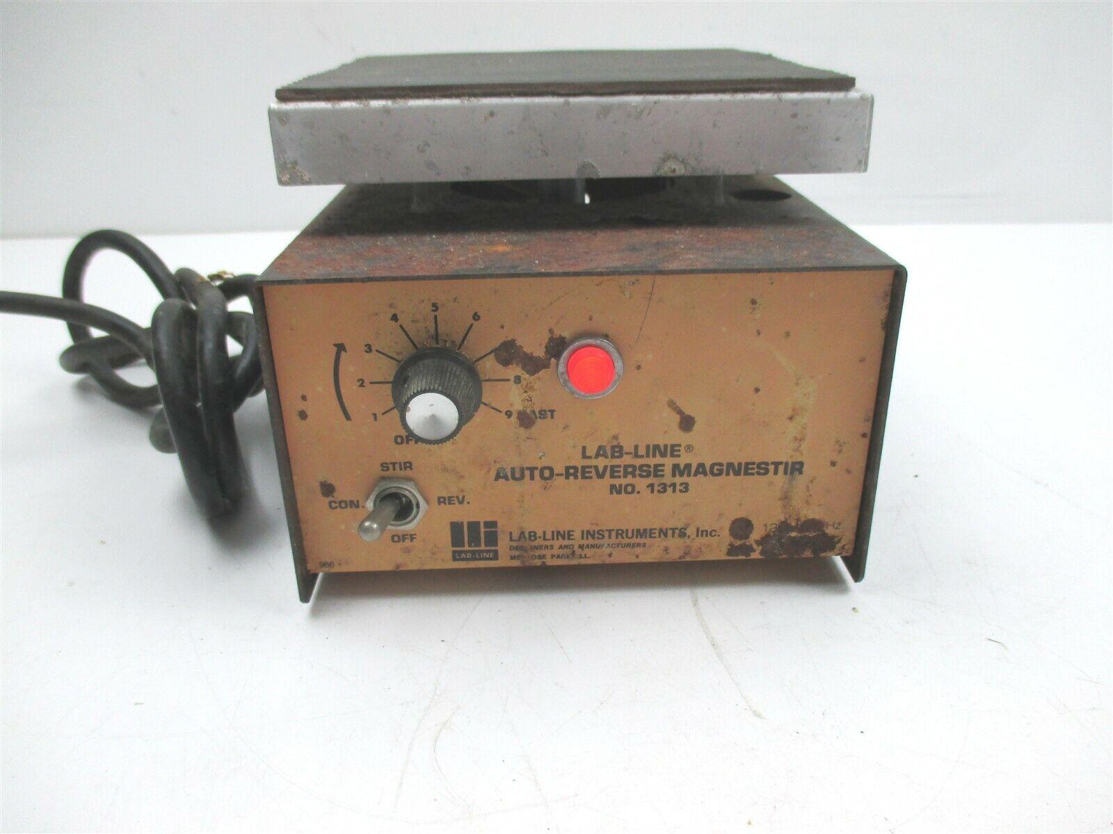 Lab-Line 1313 Auto-Reverse Magnestir Magnetic Laboratory Mixer Stirrer Device
