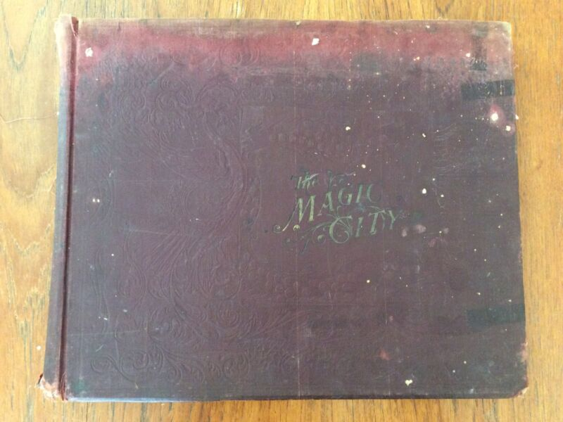 The Magic City Original Photographic Views of The Great Worlds Fair JW Buel 1894