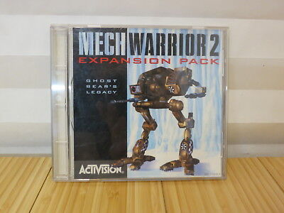 MechWarrior 2: Expansion Pack -- Ghost Bear's Legacy (PC, 1996)-NEW SEALED