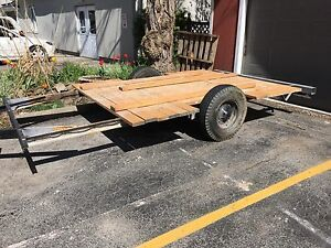 Single axle with brake or trade RIDING MOWER $500 OBO