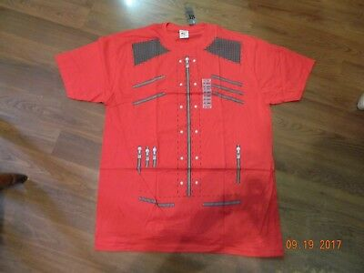Michael Jackson Clothing Style (NWT- Michael Jackson Beat It video Jacket style tee shirt from Hot Topic)
