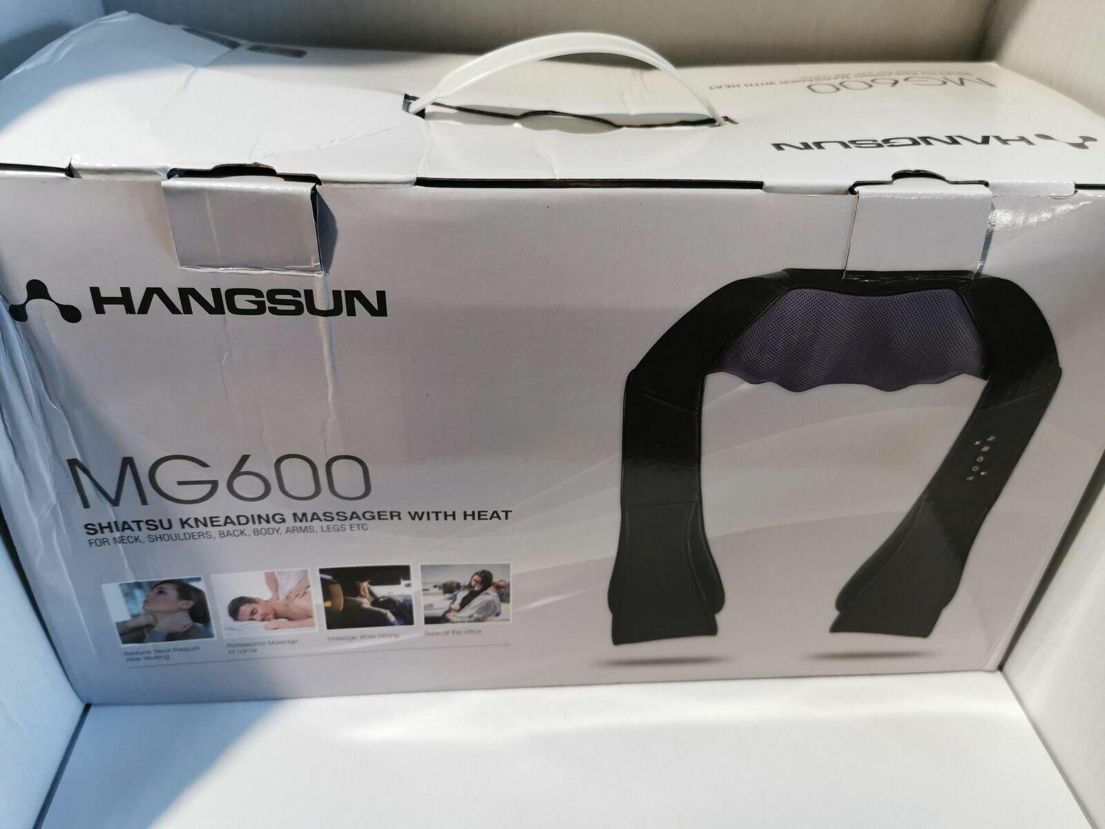Shiatsu Massagegeräte Rücken Schulter Nacken MG600 Elektrisch Nackenmassagegerä