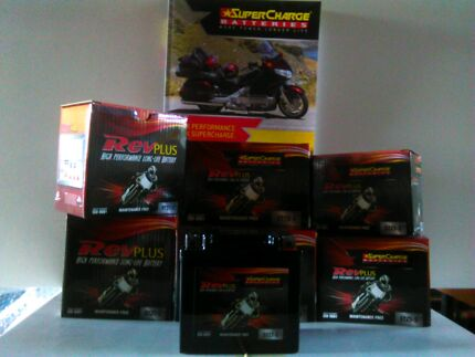 Batteries Motorcycle Scooters Jetskis