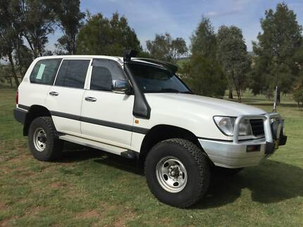 1998 Toyota LandCruiser Manual 5 Speed Diesel GXL-100 Series
