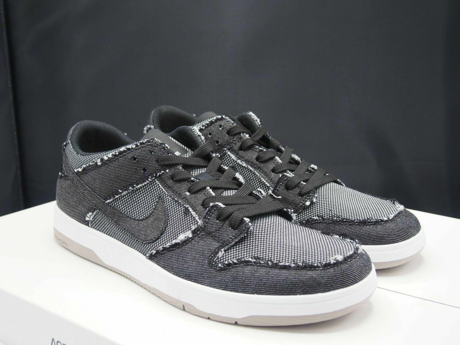 best service a1a91 dc080 Nike SB Dunk Low Elite Medicom Bearbrick Black Medium Gray Size 10.5