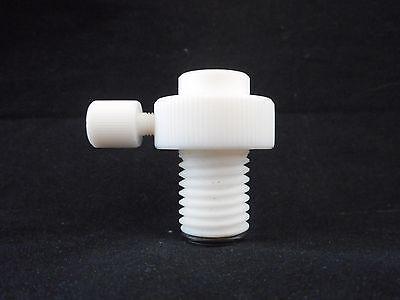 Ace Glass Ptfe Bottom Drip Internal 15 Threaded Adapter W Flow Regulator Valve