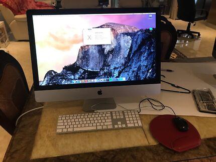 iMac 27 inch late 2013 with 256GB flash custom upgraded DG model