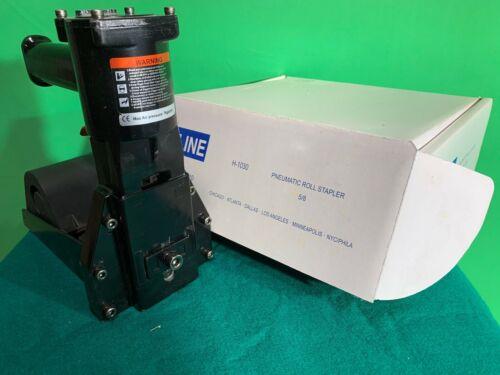 "Uline Pneumatic Roll Feed Box Stapler 5/8"""