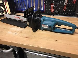 MAKITA UC4000 HEAVY DUTY ELECTRIC CHAINSAW MADE IN GERMANY Shell Cove Shellharbour Area Preview