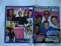 Backstreet Boys auf Tour Fan Magazin 1996 Berlin - Tiergarten Vorschau