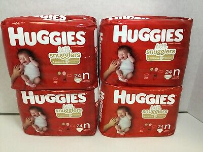 Huggies 52238 Newborn up to 10lbs Umbilical Cut-Out, 4 Packs, 96 Count
