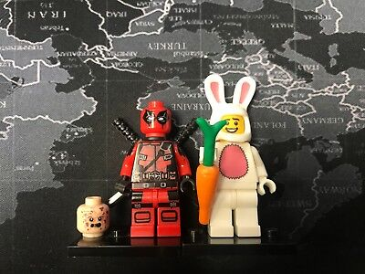 Bunny Suit Guy And DEAD POOL LEGO Compatible Blocks (Dead Pool Spielzeug)