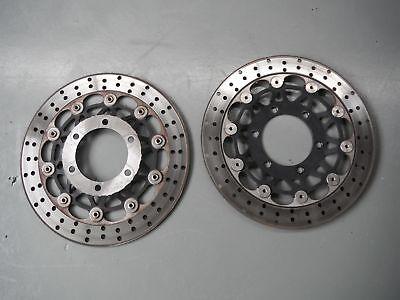 Usado, Front brake disc disk pair DAELIM VJF250 VJF 250 250R BZ1 2015 GET IT FAST! segunda mano  Embacar hacia Argentina