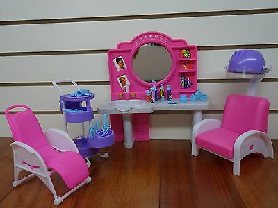 Gloria,Barbie Doll House Furniture/(96009) My Fancy Life Hair Salon
