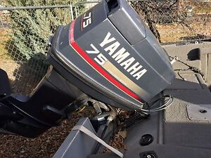 Fisher 16.5 foot with 75 horsepower Yamaha