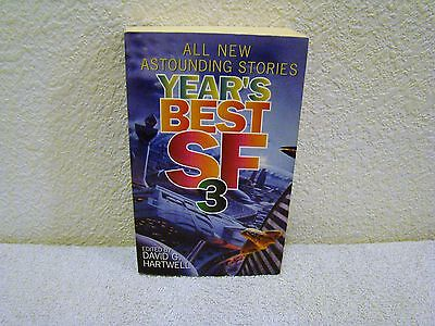 1998 Years Best Sf3  First Printing  Edited By David G  Hartwell Paperback Book