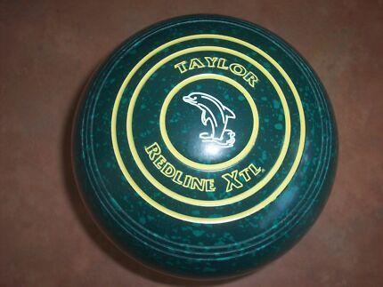 Thomas Taylor REDLINE XTL lawn Bowls Size 4H WB19 Plain Grip VGC