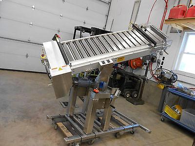 82 X 18 Stainless Steel Food Pharmacuetical Grade Belt Feeder Conveyor